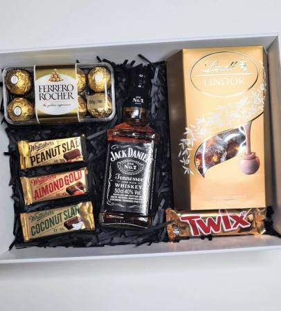Jack Daniels & Chocolate Hamper