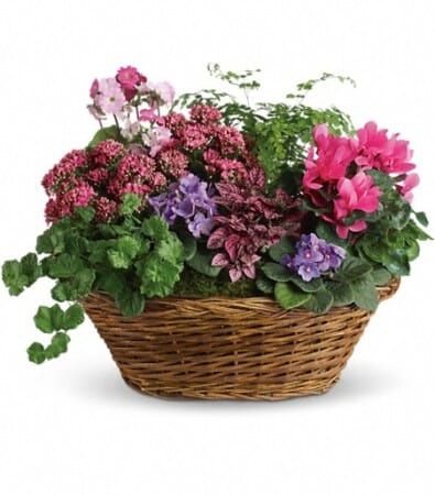 Basket of Blooms Medium