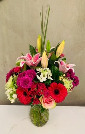 Mixed Vase Arrangement