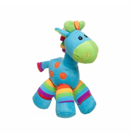 Giraffe Rattle - Blue