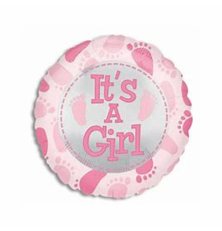 Balloon Foil it`s a Girl