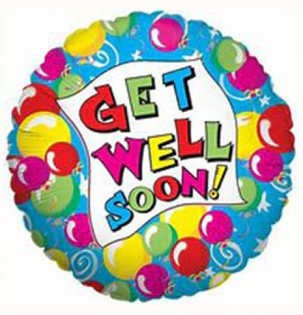 Foil Get Well Balloon