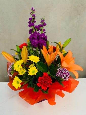 Mixed Bright Box Arrangement